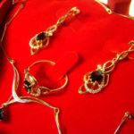 Комплекты кольца с серьгами