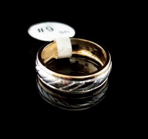 Женское позолоченное кольцо покрытие золото 585 пробы обручальное