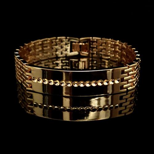 Мужские браслеты покрытые золотом