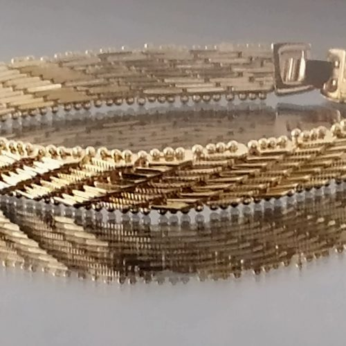 Женский позолоченный браслет